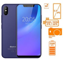 Фото: Blackview A30 2/16GB DUALSIM Blue OFFICIAL UA