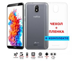 Фото: TP-Link Neffos C5 Plus 1/8GB (ТР7031А) DUALSIM Grey (Film+Case)
