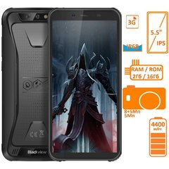 Фото: Blackview BV5500 2/16GB DUALSIM Black OFFICIAL UA
