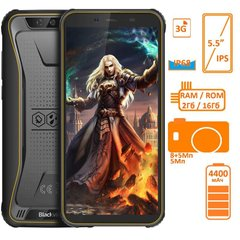 Фото: Blackview BV5500 2/16GB DUALSIM Yellow OFFICIAL UA