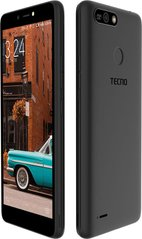 Фото: Смартфон TECNO POP 2 Power (B1P) 1/16GB DUALSIM Midnight Black